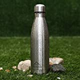 Fly Skyline 17oz Insulated Double Wall Vacuum Stainless Steel Water Bottles Keeps Drinks Hot and Cold for 24