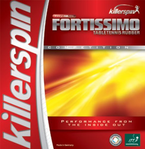 Cheapest Prices! Killerspin Fortissimo-High Tension Table Tennis Rubber - 2.0mm