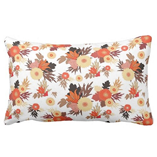 Thanksgiving Floral Pillow Covers Thanksgiving Wikii