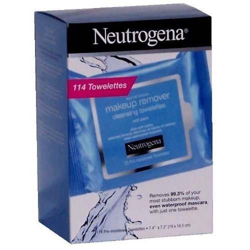 NEUTROGENA Makeup Remover Cleansing Towelettes,