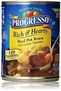 Progresso Rich & Hearty Soup, Beef Pot Roast, 18.5 Oz