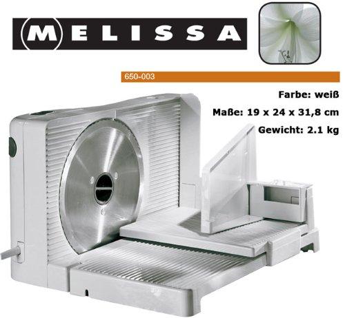 Melissa 646-090 Allesschneider