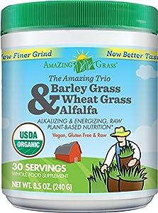Amazing Grass Amazing Trio, 30 Servings, 8.5 Ounces