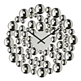 Premier Housewares Bubble Wall Clock - 40 cm
