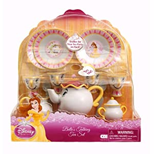 Disney's Beauty And The Beast Belle Talking Tea Set