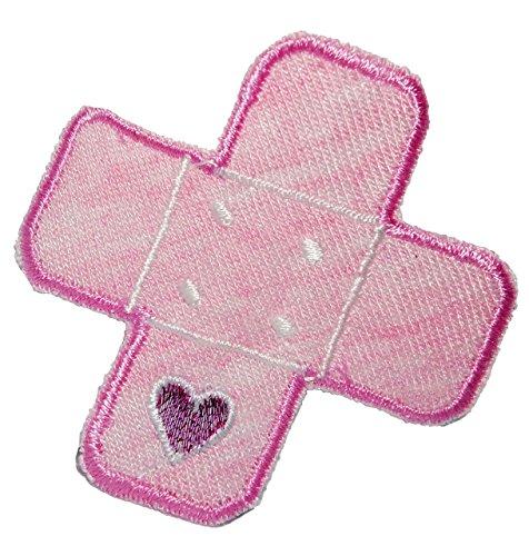bugelbild-pflaster-rosa-herz-52-cm-52-cm-aufnaher-gewebter-flicken-applikation-fur-kinder-teddy-plus