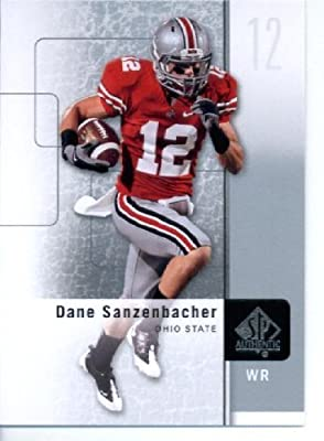 2011 SP Authentic Football Cards #29 Dane Sanzenbacher RC - Ohio State Buckeyes (RC - Rookie Card) Chicago Bears (NFL Trading Card)