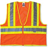 Ergodyne Glowear 8230Z Class 2 Two-Tone Vest, Orange, L/XL
