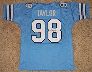 Autographed Lawrence Taylor Jersey - Unc #98 - JSA Certified - Autographed College... by Sports+Memorabilia