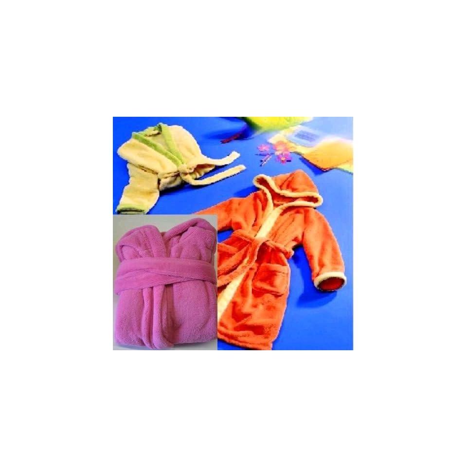 günstiger Preis populäres Design Neue Produkte Kinder Bademantel 140/154 rose Küche & Haushalt on PopScreen