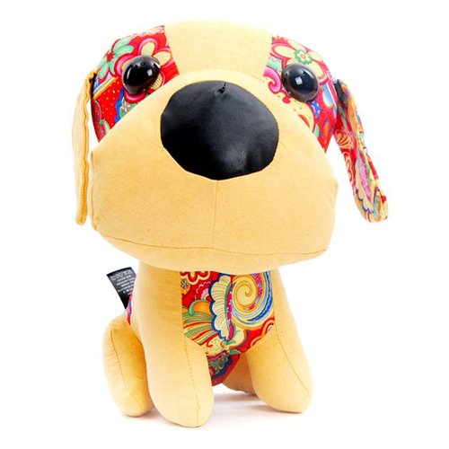 32 X 25Cm Big Head Puppy Toys Stuffed Animals Home Decorations Unique Gifts front-514109