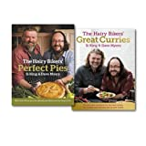 Hairy Bikers The Hairy Bikers Great Curries & Perfect Pies Collection 2 Books Set, (The Hairy Bikers' Great Curries & The Hairy Bikers' Perfect Pies: The Ultimate Pie Bible from the Kings of Pies)