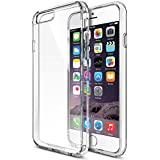 iPhone 6 Case, Maxboost® [Clear Cushion] iPhone 6 (4.7) Case Bumper [Lifetime Warranty] Seamless integrated Shock-Absorbing Bumper and Ultra Clear Back Panel Protective Cover - Stylish Retail Packaging - Slim Bumper Clear Cases for Apple iPhone 6 (4.7 inch) (2014)
