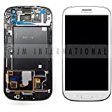 Samsung Galaxy S3 III LCD Digitizer+Frame i747 T999 AT&T T-mobile - White