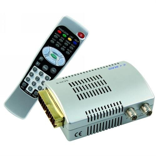 Comag SC 25 Digitaler Satelliten-Receiver silber