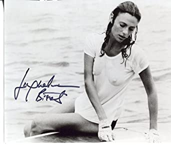 * JACQUELINE BISSET * signed see thru wet t-shirt 8x10 photo / UACC Registered Dealer # 212