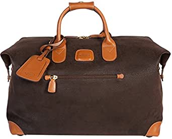 Bric's Luggage Life 18 Inch Cargo Duffle (18-Inch, Brown)