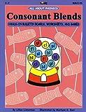 Consonant Blends: Hands-On Bulletin Boards, Worksheets & Games