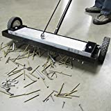 "Magnetic Sweeper Heavy Duty Push-Type with Release, 24"" Sweeping Width, 1 each"