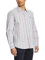 Galvanni Camisa Hombre (Blanco / Multicolor)