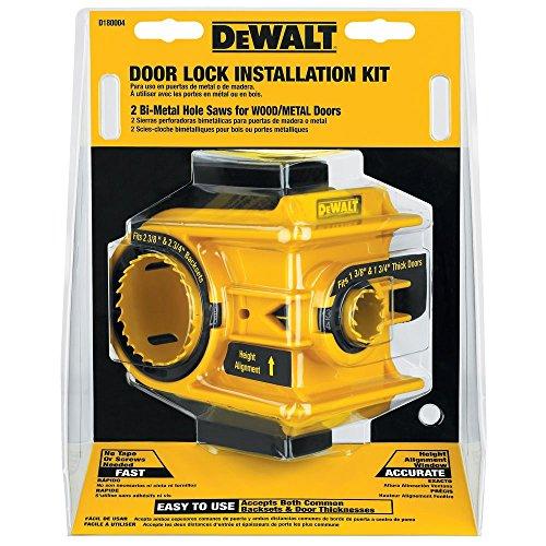 DEWALT D180004 Bi-Metal Door Lock Installation Kit (Door Knob Jig compare prices)