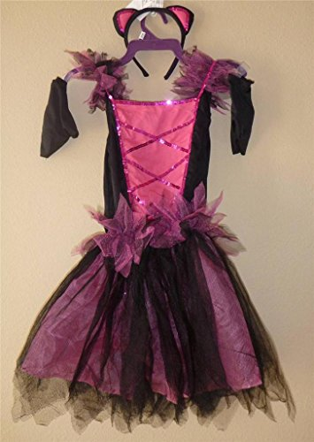 Sweetie Cat Costume for Girls Size Small 4-6