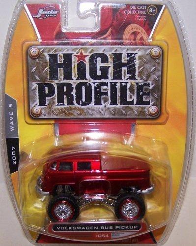 Jada Toys High Profile 2007 Wave 5 #054 1963 Volkswagen Bus Pickup (Jada Toys High Profile 1 64 compare prices)