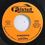 Kokomo 45 RPM Humorous / Theme From a Silent Movie