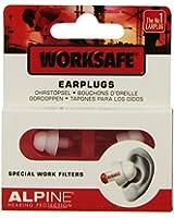 Alpine WorkSafe Protection de l'ouïe pour Travail Blanc