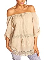 Love U Blusa Julie (Beige)