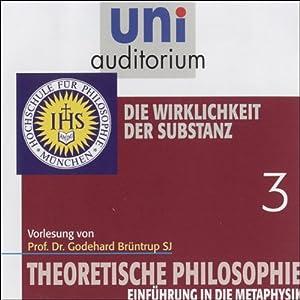 Die Wirklichkeit der Substanz (Theoretische Philosophie 3) Hörbuch