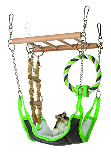 Trixie Pet Products 6298 Suspension Bridge, Green, 17 x 22 x 15cm 51BsvsgzvJL