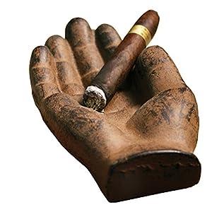 Cast Iron Hand Ashtray