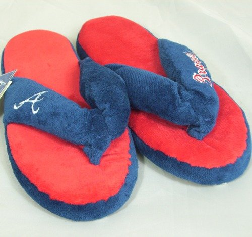 Atlanta Braves MLB Flip Flop Thong Slippers at Amazon.com