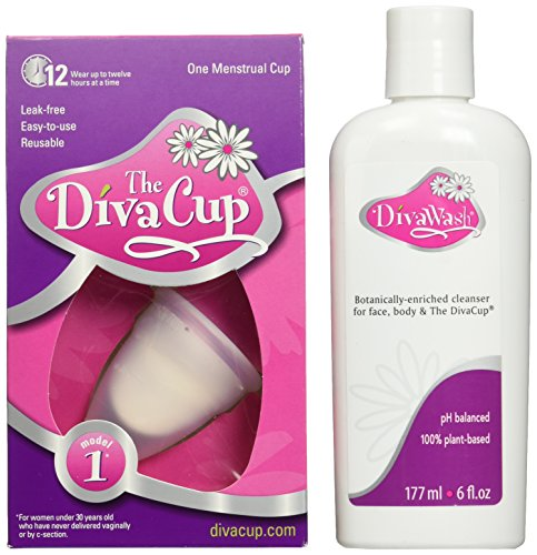 Diva Cup Model 1 and Wash (Lunette Model 1 compare prices)
