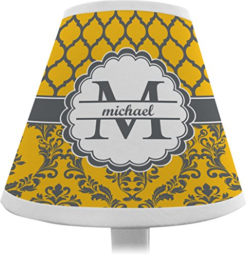 Damask & Moroccan Chandelier Lamp Shade (Personalized) front-668313