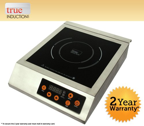 True Induction 220V 3200 Watt Commercial Single Induction Cook Top