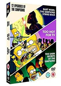 The Simpsons: Bart Wars/Too Hot For TV/Dark Secrets [DVD]