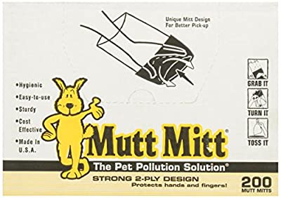 Mutt Mitt Dog Waste Pick Up Bag from flexi