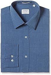 Arrow Men's Formal Shirt (8907378517531_ASSF0240_46_Blue)
