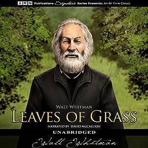 Leaves of Grass Hörbuch von Walt Whitman Gesprochen von: David McCallion