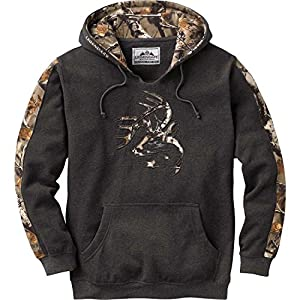 Legendary Whitetails Men's Outfitter Hoodie Charcoal Heather XXX-Large