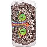 Voguecase® Rigide Plastique Shell Housse Coque Étui Case Cover Wiko Stairway(yeux verts)de Gratuit stylet l'écran aléatoire universelle