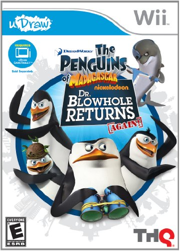 uDraw Penguins of Madagascar: Dr. Blowhole Returns Again! - Nintendo Wii (Diabolical Box compare prices)