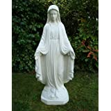 Large Garden Statues Art - Religious Virgin Mary Sculpture
