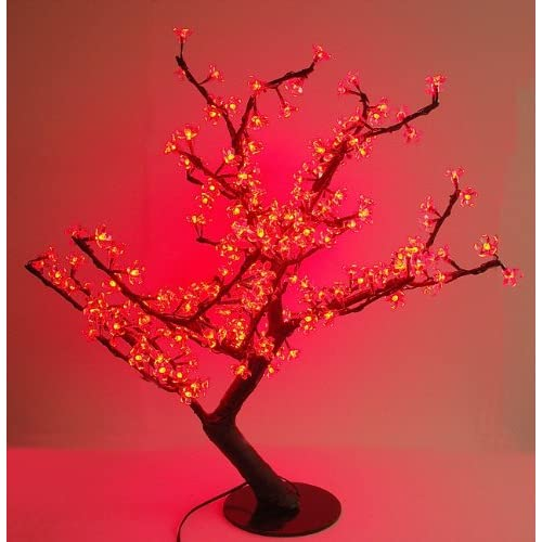 LED Cherry Blossom Tree Red 04244 02