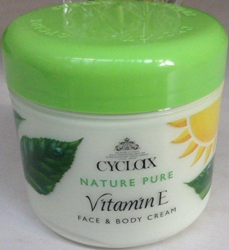 5x Cyclax Nature Vitamin E Face and Body Cream 300ml by Cyclax