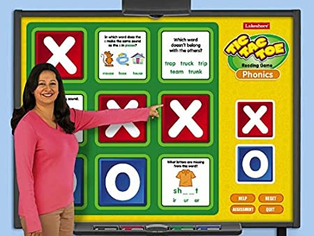 Phonics Interactive Tic-Tac-Toe Game