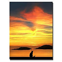 Contemplation by Jon Bertelli Premium Gallery-Wrapped Canvas Giclee Art (Ready-to-Hang)