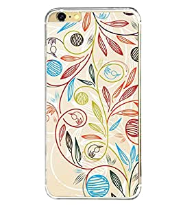 Beautiful Pattern 2D Hard Polycarbonate Designer Back Case Cover for Apple iPhone 6